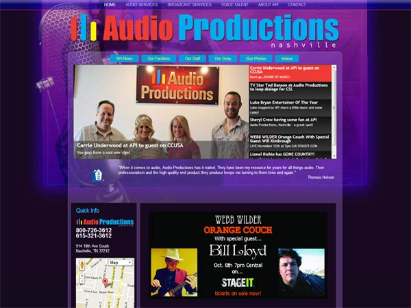 audioproductions.com